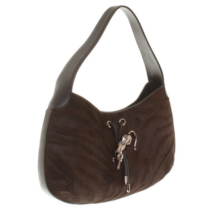 Cartier Handbag with pony fur trim