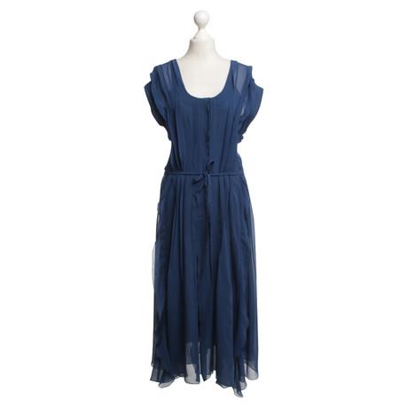 Sonia Rykiel Kleid in Dunkelblau Blau