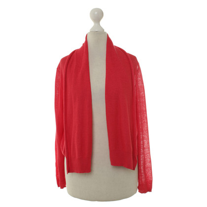 Comptoir des Cotonniers Knitting Bolero in red