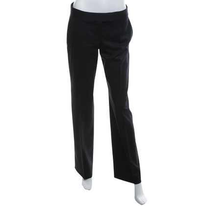 Stella McCartney New wool trousers in black