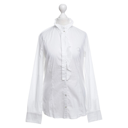 Armani Jeans Hemdbluse in Weiß