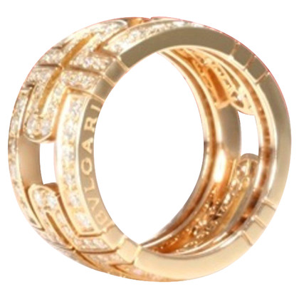 Bulgari Bague en or rose
