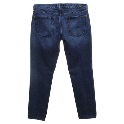 7 For All Mankind Jeans mit goldfarbenem Glitzer