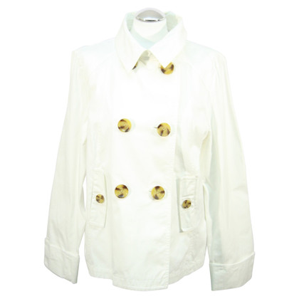 Hobbs Coat in white