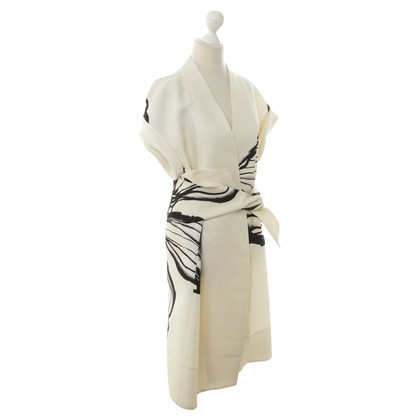 Aquilano Rimondi Lang vest in kimono-look