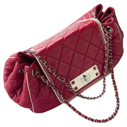 "Chanel ""Accordion East West Flap Bag"""