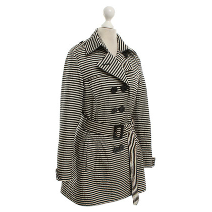 Herno striscia Trench