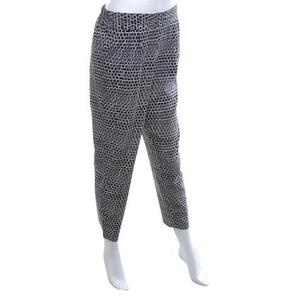 Steffen Schraut Pantaloni di seta