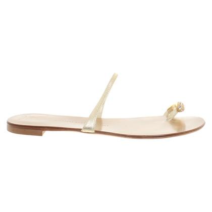 Giuseppe Zanotti Leren sandalen