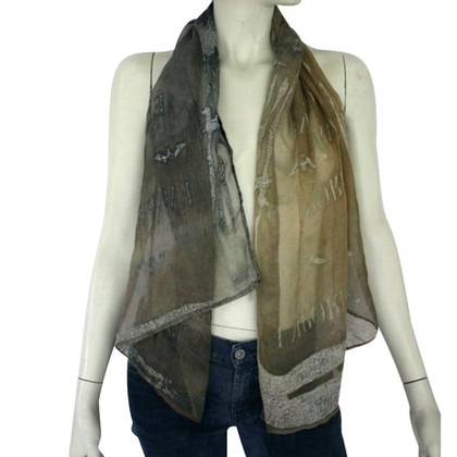 Armani Soft olive green shawl