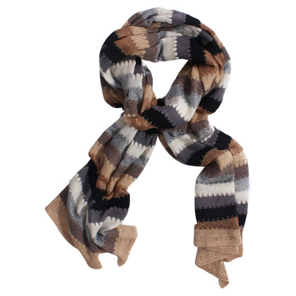 Missoni Knit scarf in multi colored