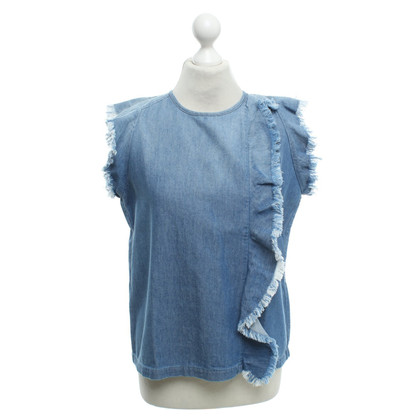 Closed Jeans Top in blauw