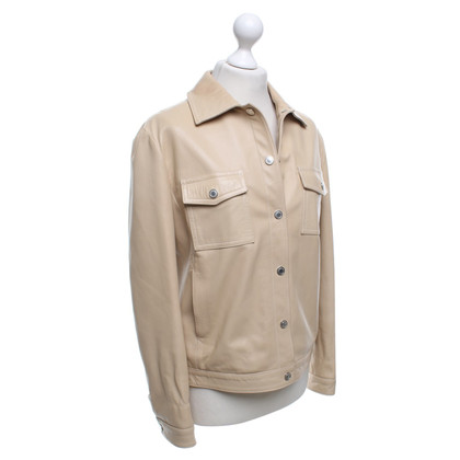 Burberry Leather jacket in beige
