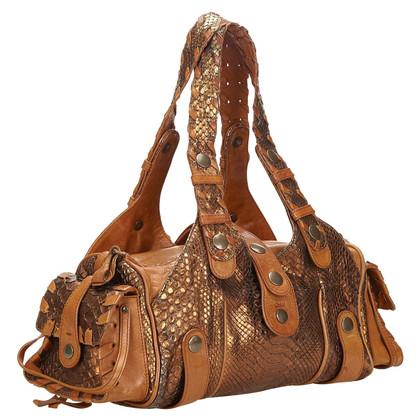 Chloé Handtasche aus Pythonleder