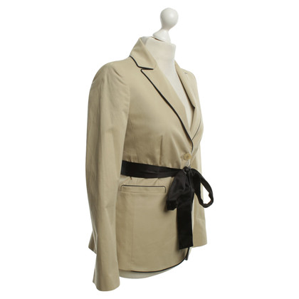 Valentino Jacket in beige color