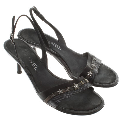 Chanel Sandals in zwart