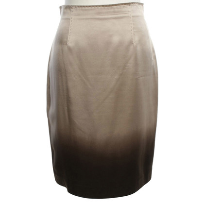 St. Emile skirt with dip-dye coloring