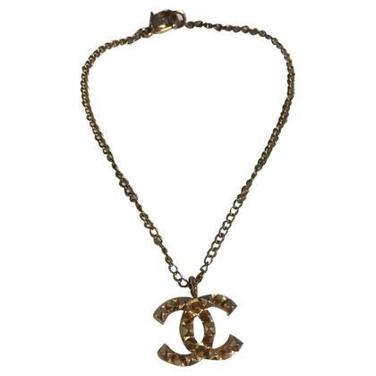Chanel Bracciale con ciondolo con logo