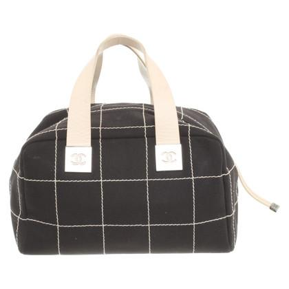 Chanel Handtasche in Schwarz/Weiß