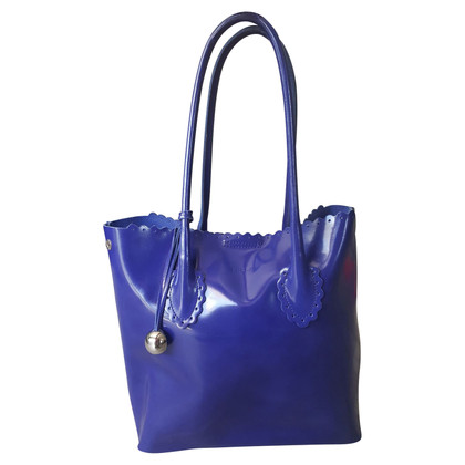 Furla Patent leather handbag