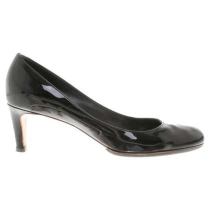Marc by Marc Jacobs Lackleder-Pumps in Schwarz