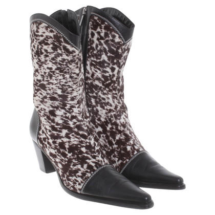 Other Designer Mariella Burani - Boots with pony fur