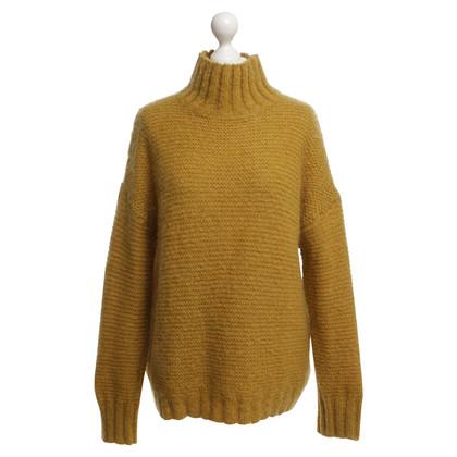 Baum und Pferdgarten maglione maglia in ocra