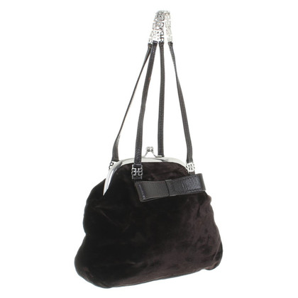 Hugo Boss Handbag made of velvet