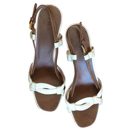 Braun Sandale Braun Wedges Prada Wedges Sandale Sandale Wedges Prada Prada Uxapqz