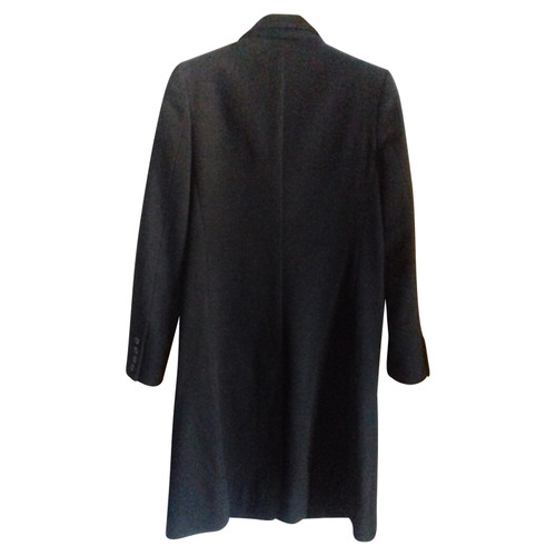 831248e3ffd Stella McCartney Jacket Coat Wool in Black - Second Hand Stella ...