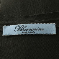 Blumarine Jurk in kaki / turquoise