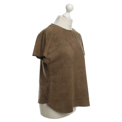 René Lezard Top in Khaki