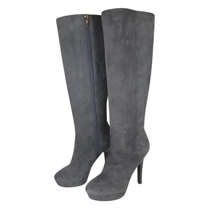 Jimmy Choo Stiefel in Grau