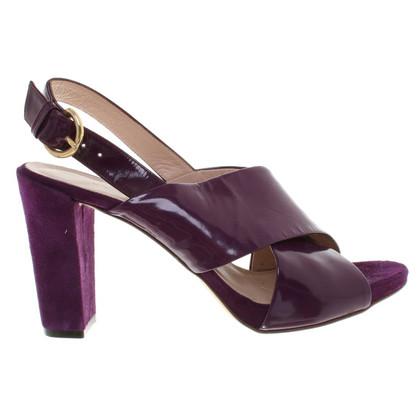 L.K. Bennett Sandales en violet