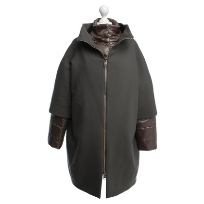Andere Marke Herno - Doppelte Jacke in Taupe