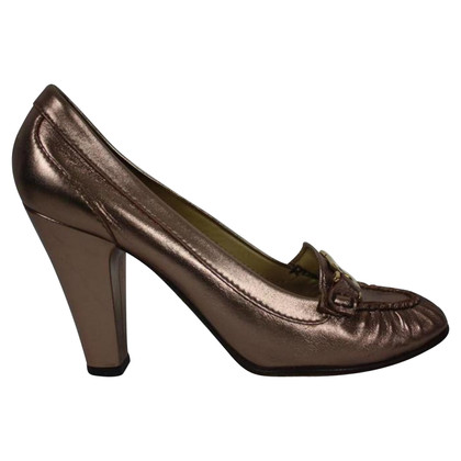 Dolce & Gabbana Pumps im Metallic-Look