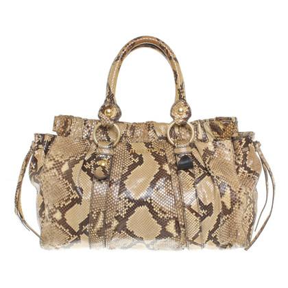 Miu Miu Snake leather handbag