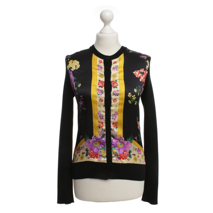 Dolce & Gabbana Wool cardigan with floral print