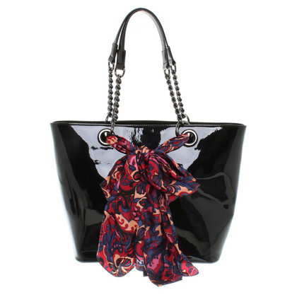 DKNY Shopper made of patent leather