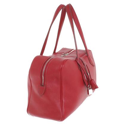 Hermès Victoria bag in red