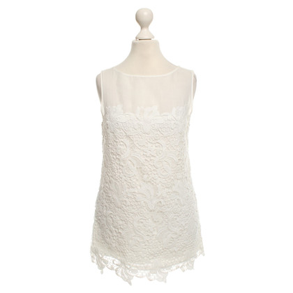 Ermanno Scervino Top with lace