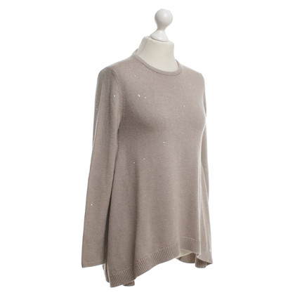 Brunello Cucinelli Strickpullover in Beige