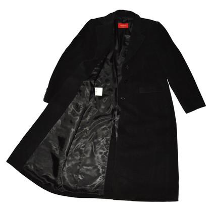 Burberry Cappotto di lana nero