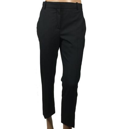 Christian Dior Zwarte wollen broek