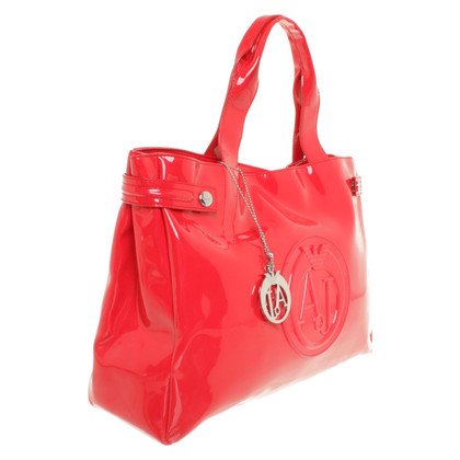 Armani Jeans Handtas in rood