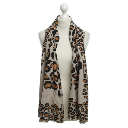 Marc by Marc Jacobs Tuch mit Animal-Print