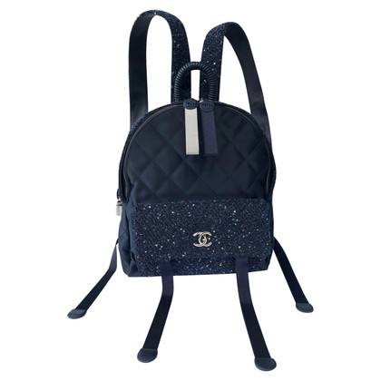Chanel Tweed Backpack