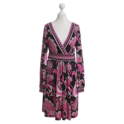 Tibi Seidenprintkleid