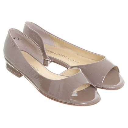 Andere merken Peeptoe lakleder sandaal