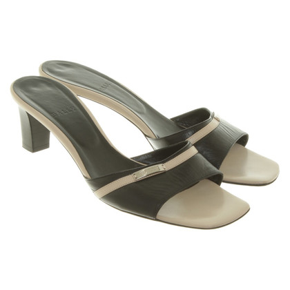 Bally Sandals in black / beige